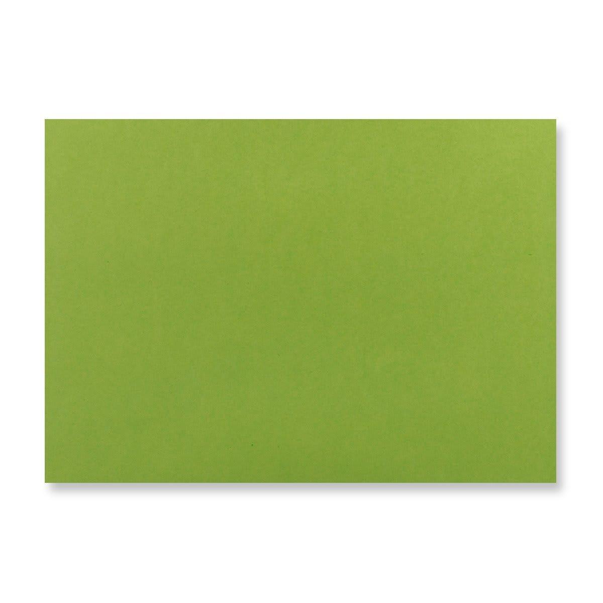 C6 GREEN V-FLAP PEEL AND SEAL ENVELOPES