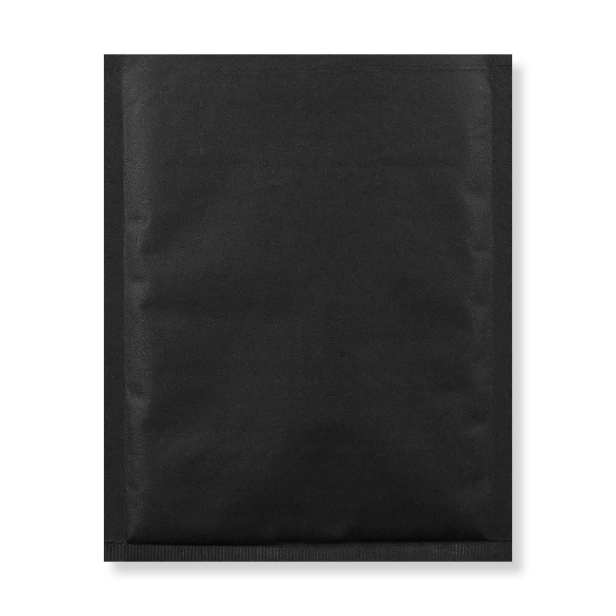 230MM SQUARE BLACK PADDED BUBBLE ENVELOPES