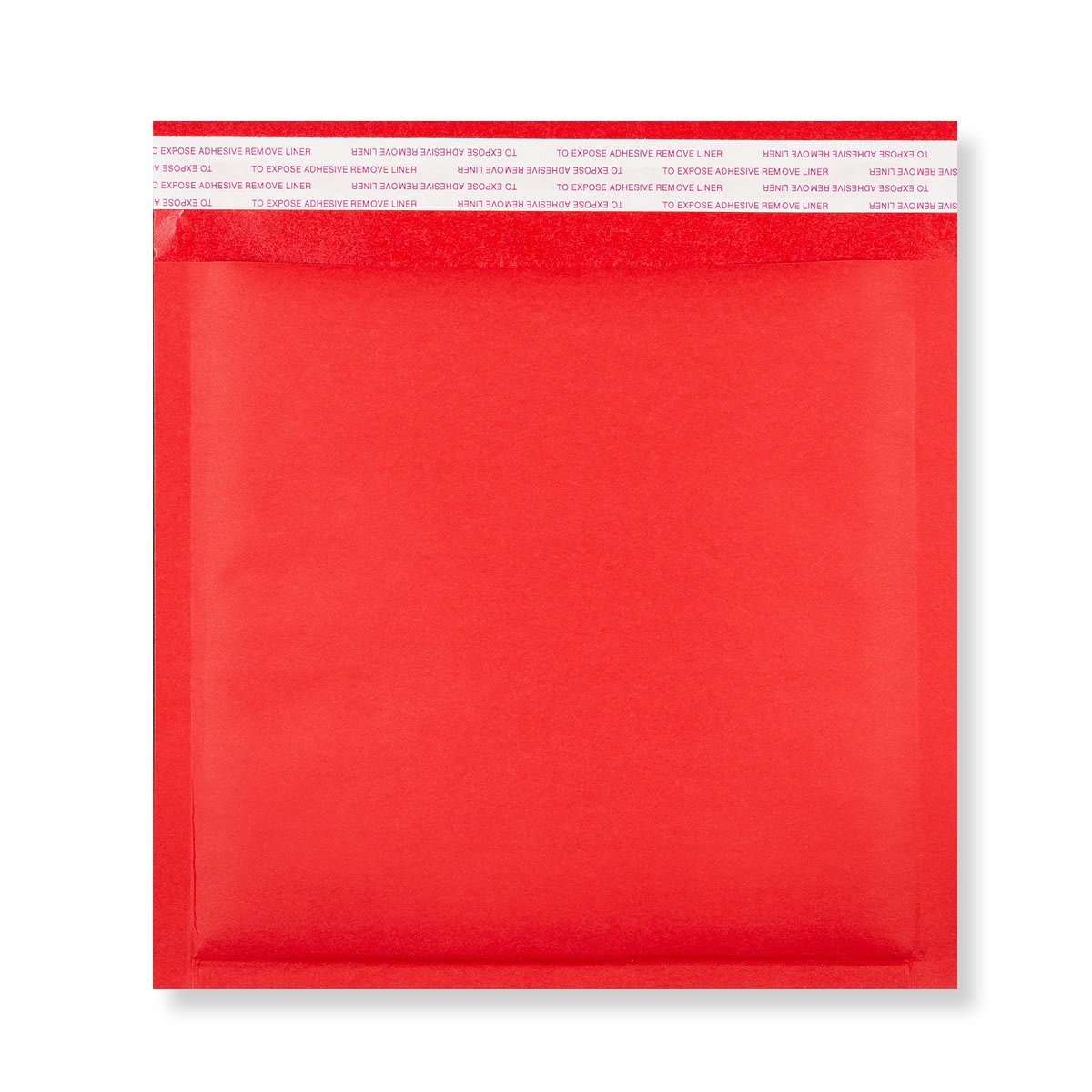 230MM SQUARE RED PADDED BUBBLE ENVELOPES