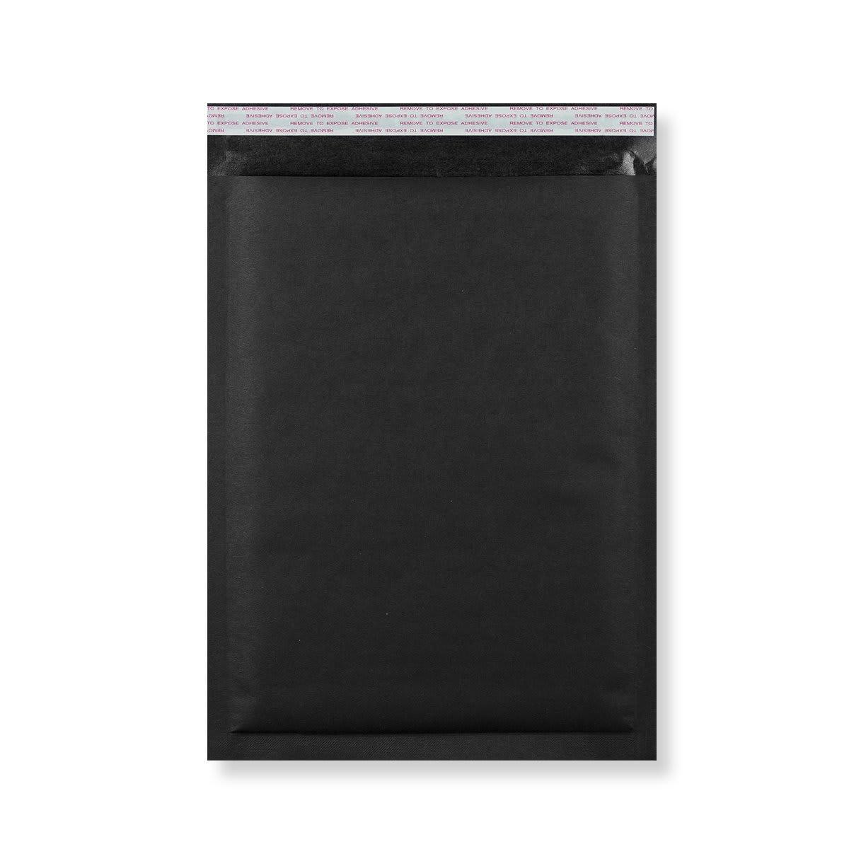 C3 BLACK PADDED BUBBLE ENVELOPES (450 x 320MM)