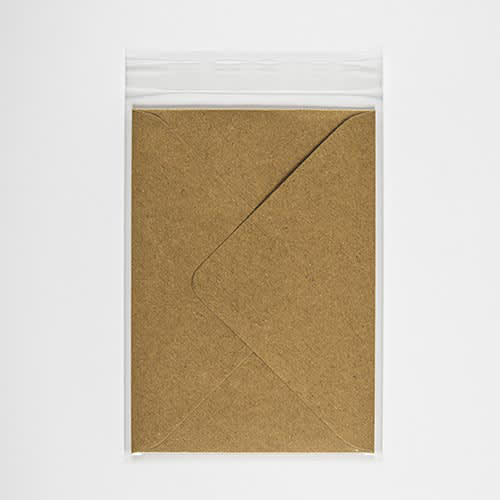 CLEAR CELLO BAGS to fit: 152 x 216 mm (SELF ADHESIVE)