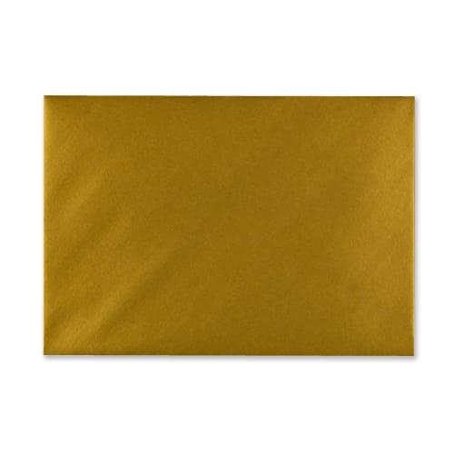 METALLIC GOLD 152 x 216 mm ENVELOPES (i9)