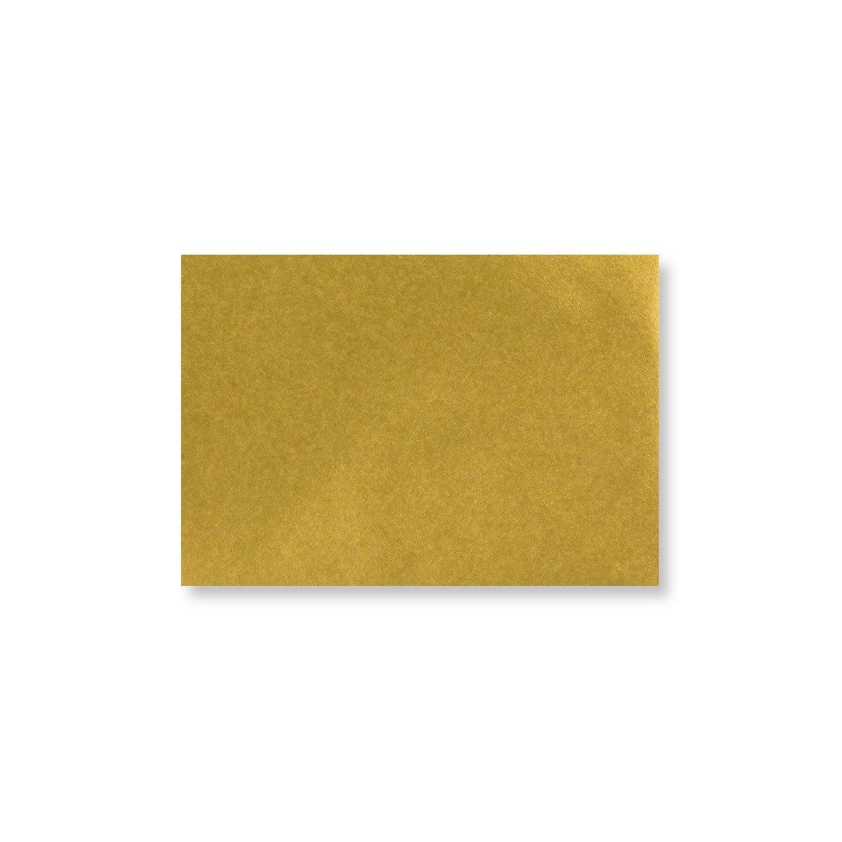 METALLIC GOLD 70 x 100 mm GIFT TAG ENVELOPE (i2)