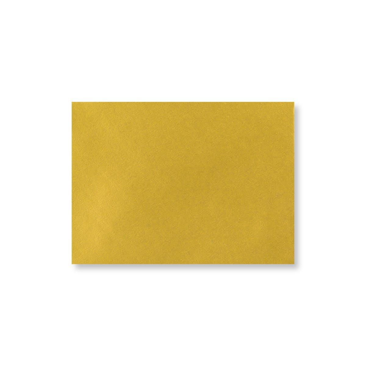 C7 METALLIC GOLD ENVELOPES