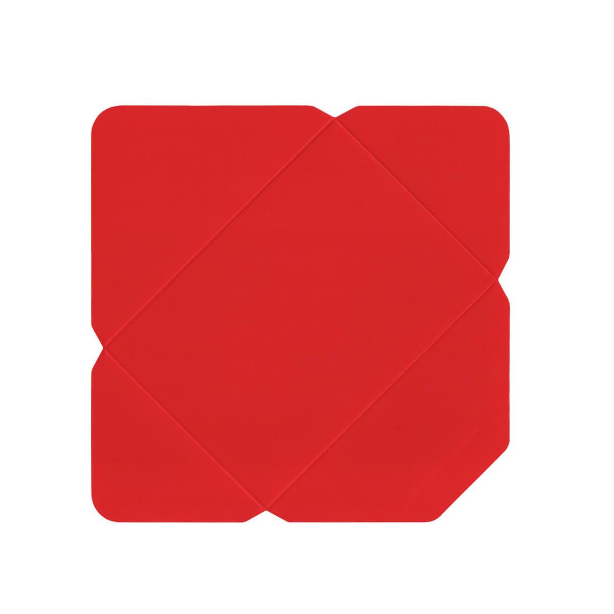 C6 DIE CUT BRIGHT RED ENVELOPES 300GSM