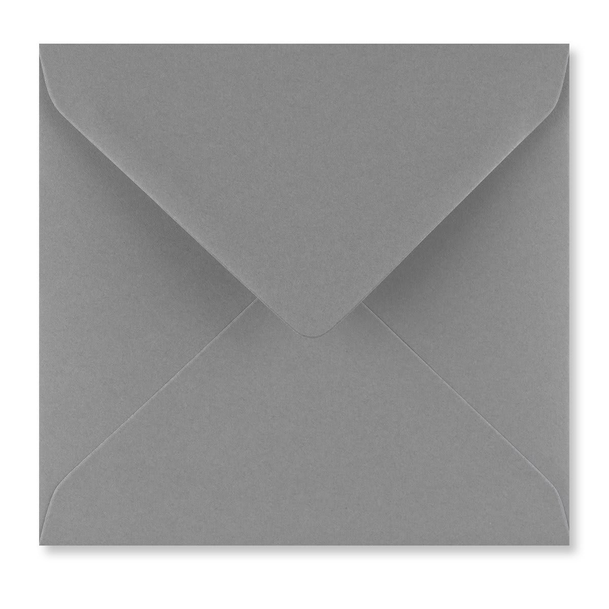 WAGTAIL GREY 155mm SQUARE ENVELOPES 120GSM