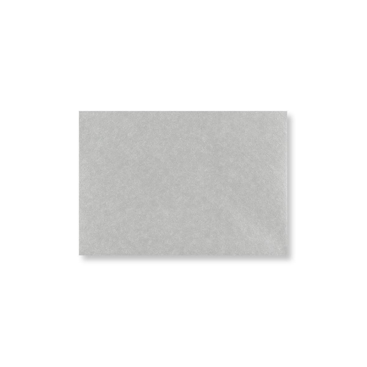 METALLIC SILVER 70 x 100 mm GIFT TAG ENVELOPE (i2)