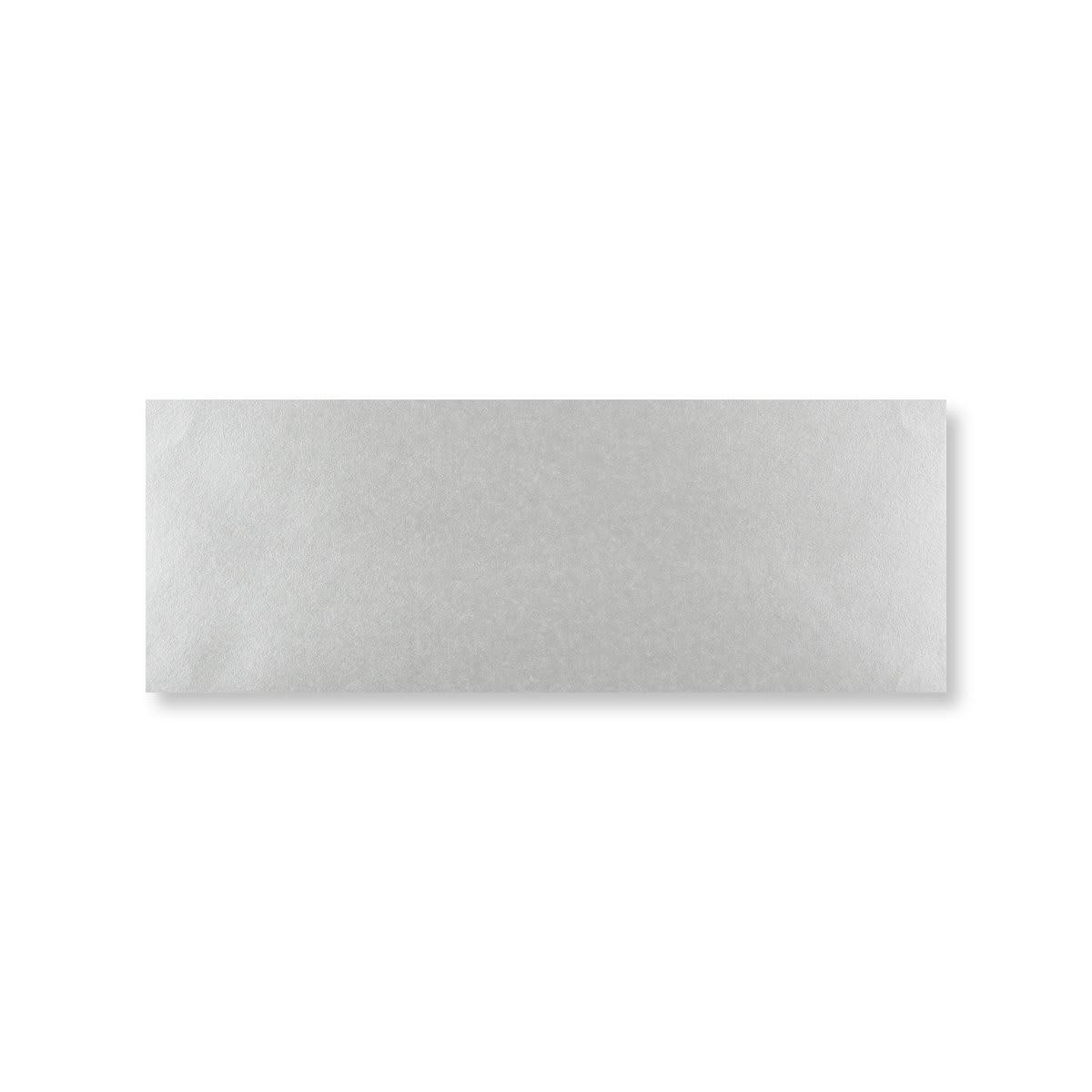 METALLIC SILVER 80 x 215 mm ENVELOPES (i3)