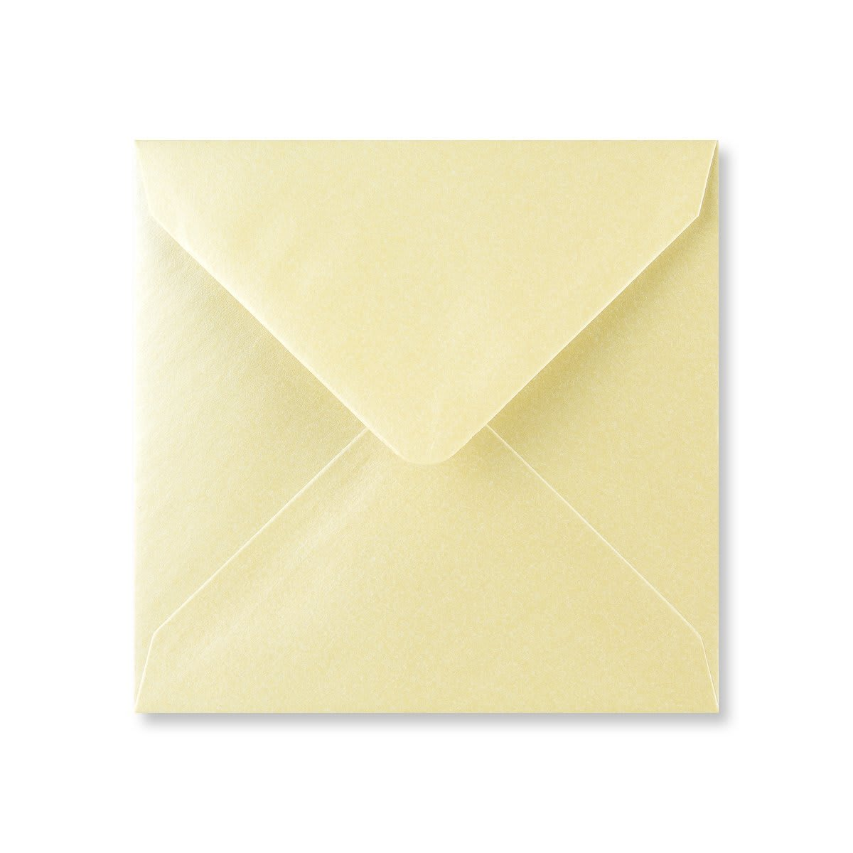 PEARLESCENT CHAMPAGNE 130mm SQUARE ENVELOPES
