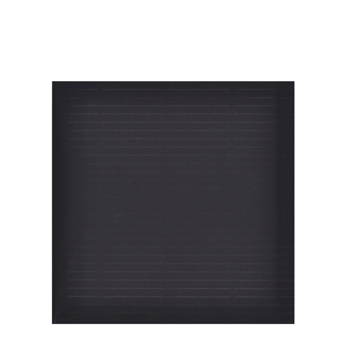 180 x 165mm BLACK PAPER PADDED ENVELOPES