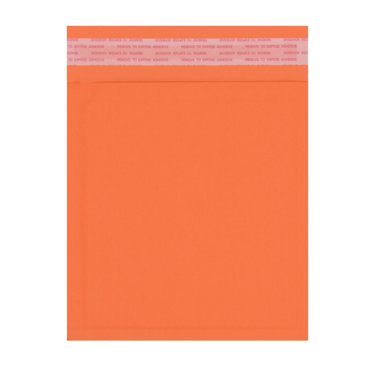 180 x 165mm ORANGE PAPER PADDED ENVELOPES