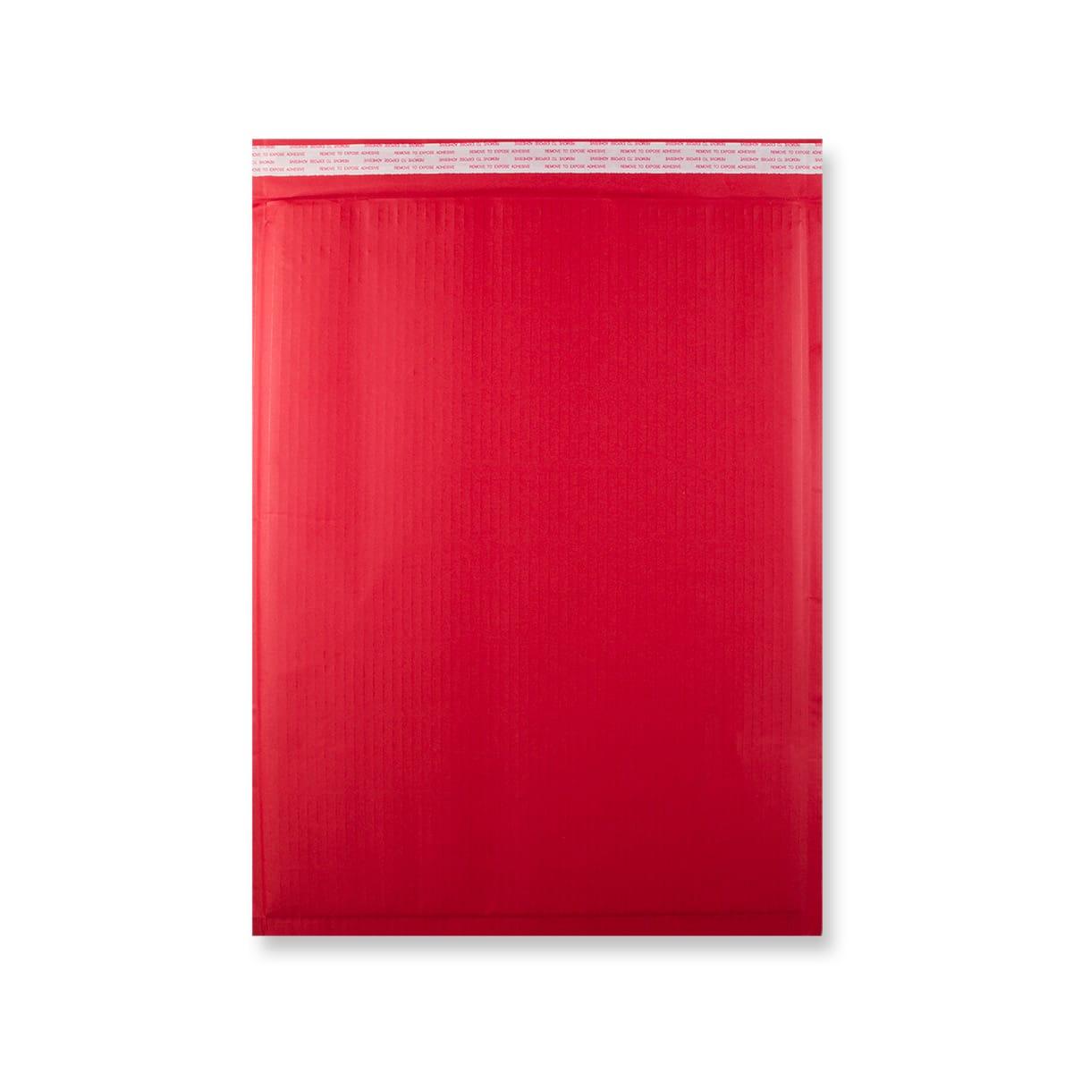 470 x 350mm RED PAPER PADDED ENVELOPES