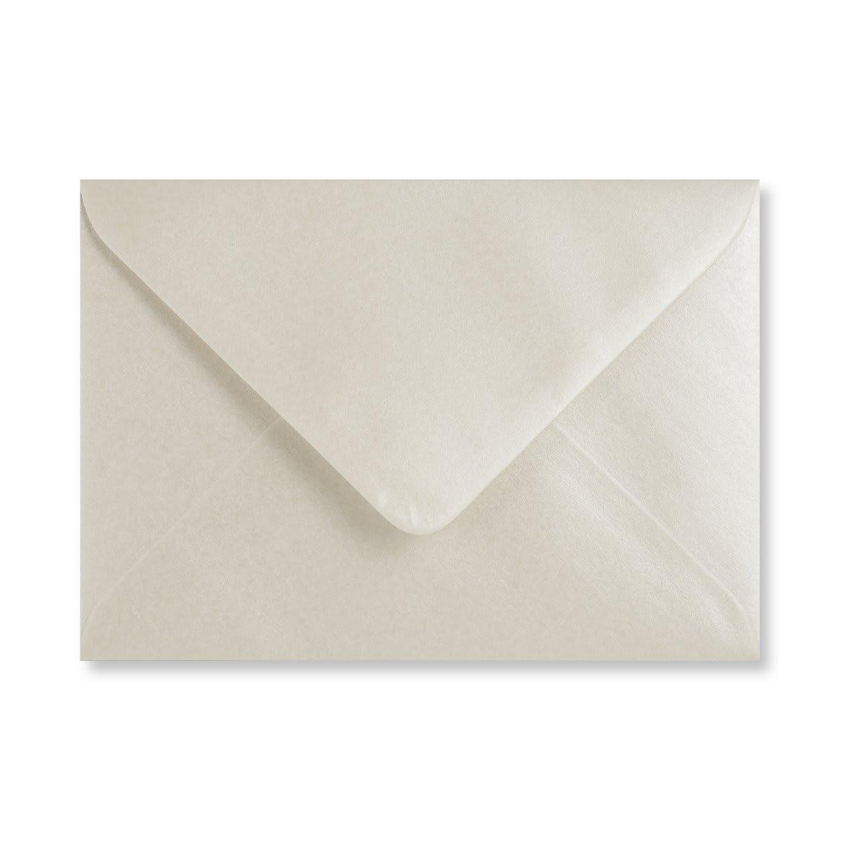 C6 PEARL OYSTER WHITE ENVELOPES