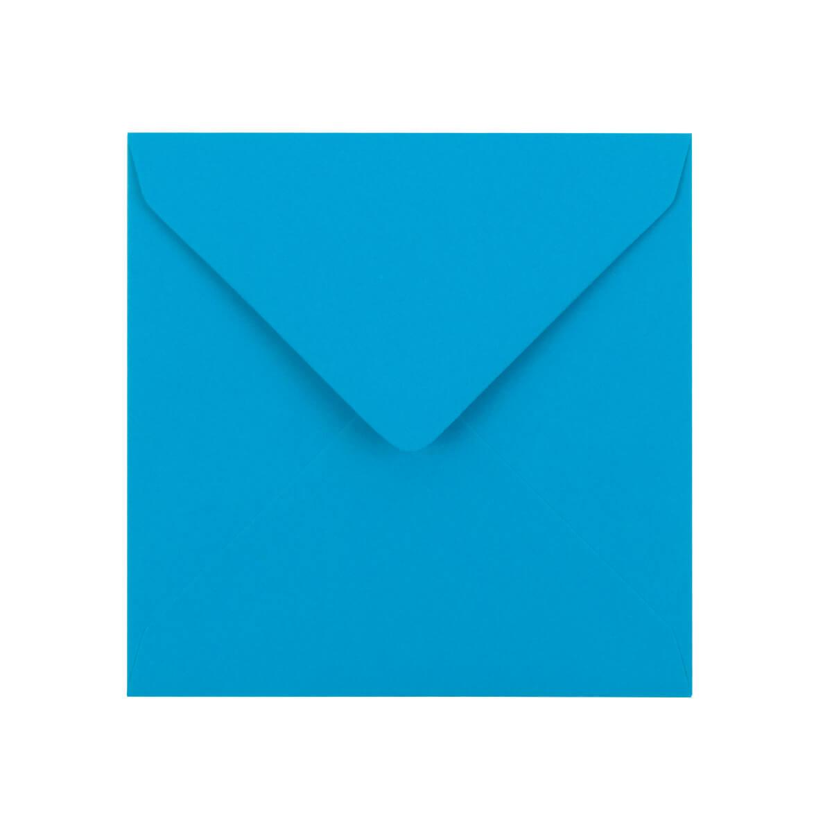 110 x 110mm BRIGHT BLUE ENVELOPES