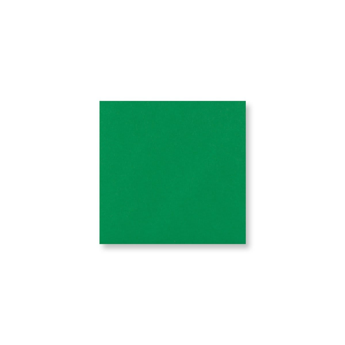 110 x 110mm DARK GREEN ENVELOPES