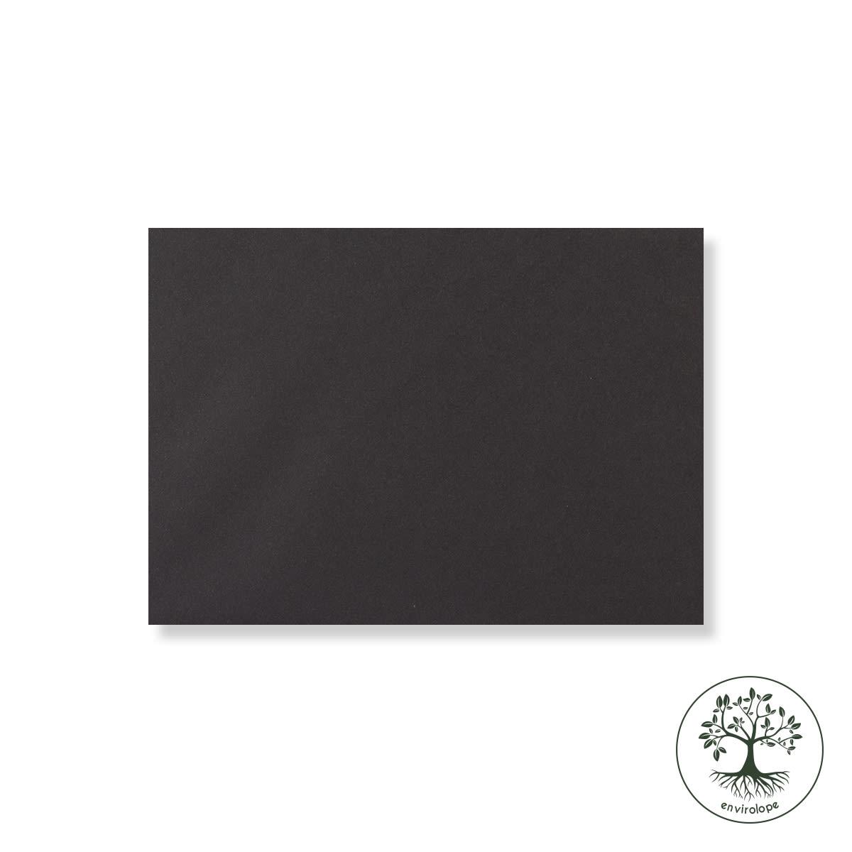 BLACK 125 x 175 mm ENVELOPES 120GSM