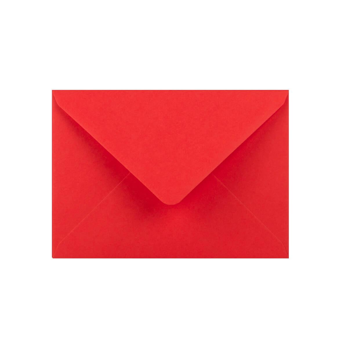 BRIGHT RED 125 x 175mm ENVELOPES
