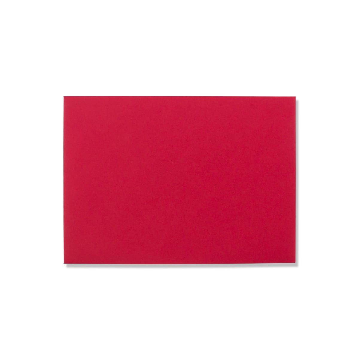 DARK RED 125 X 175mm ENVELOPES 120gsm