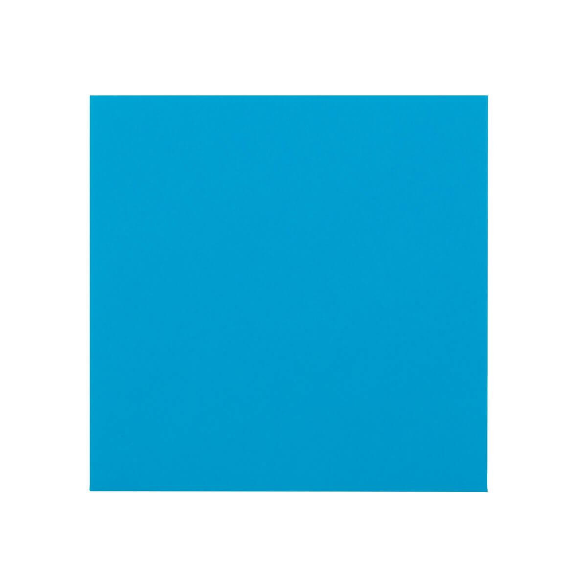BRIGHT BLUE 130MM SQUARE ENVELOPES 120GSM