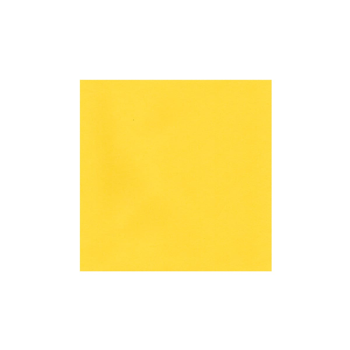 MID YELLOW 130mm SQUARE ENVELOPES 120GSM