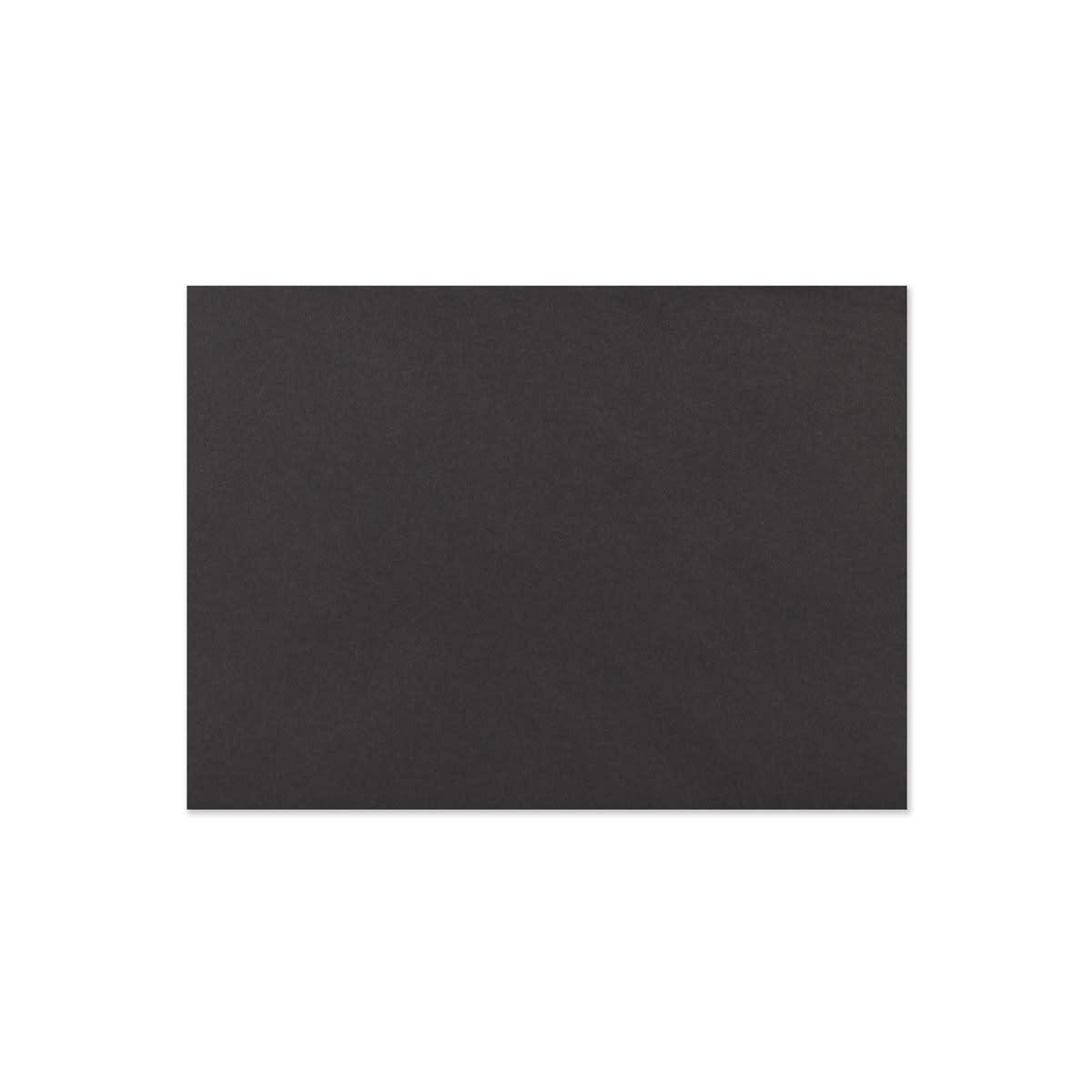 BLACK 133 x 184mm ENVELOPES 120GSM