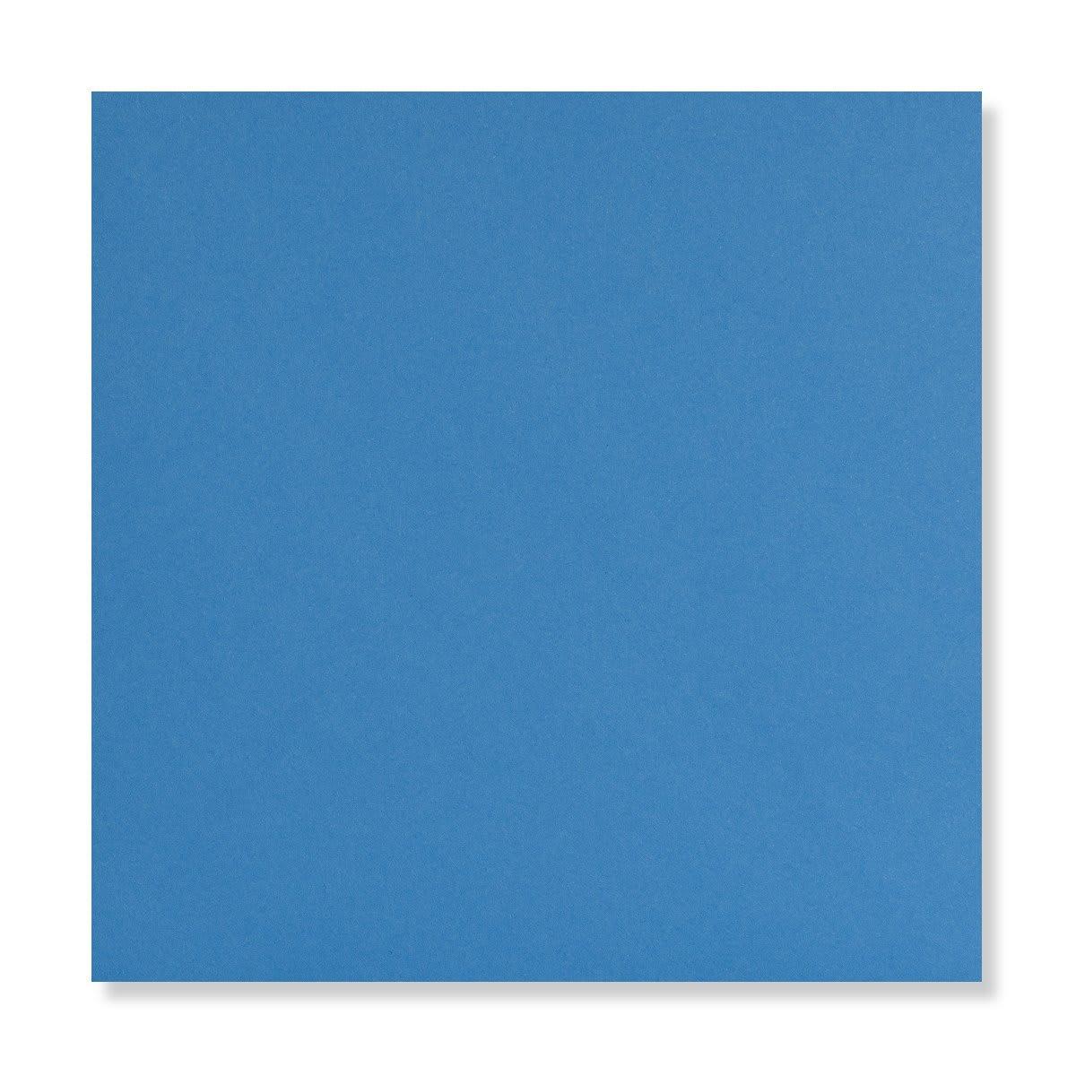 BRIGHT BLUE 155mm SQUARE ENVELOPES 120GSM