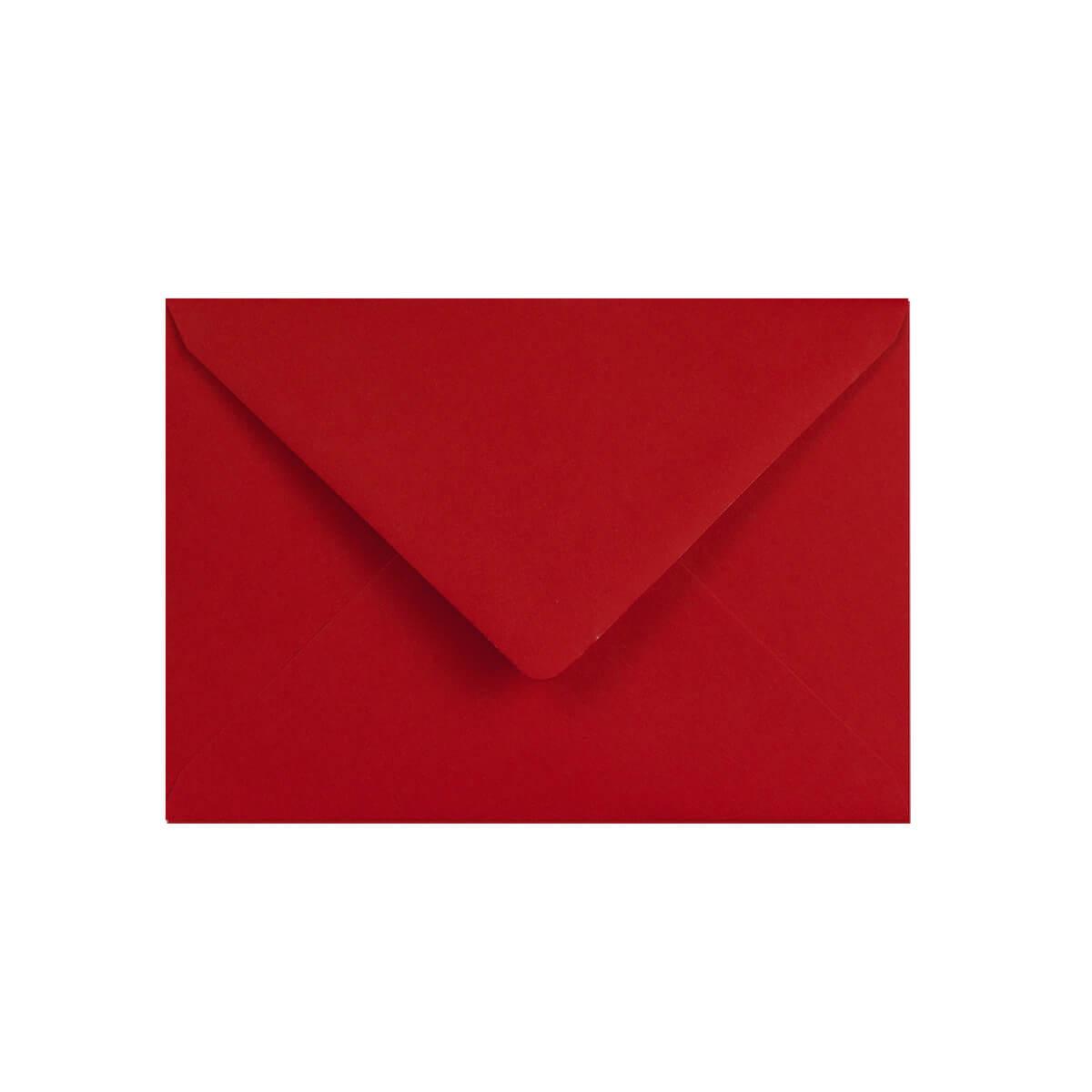 DARK RED 70 x 100mm ENVELOPES 120gsm