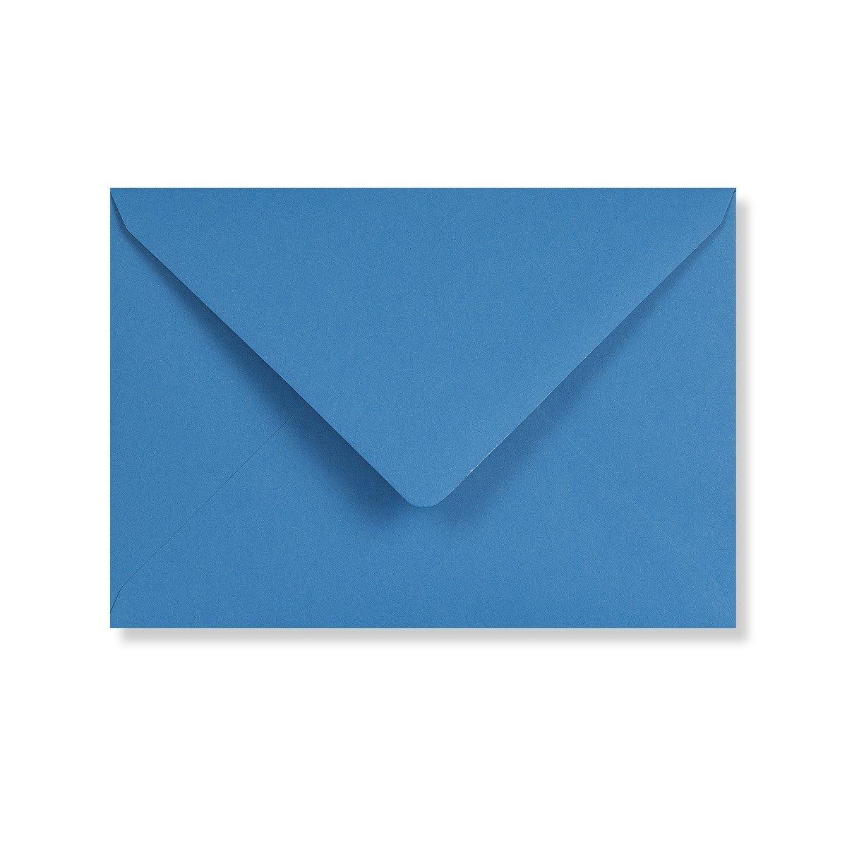 C6 BRIGHT BLUE ENVELOPES 120GSM