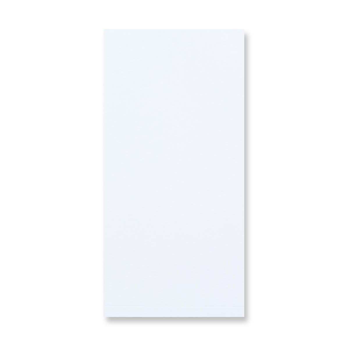 DL WHITE GUSSET ENVELOPES