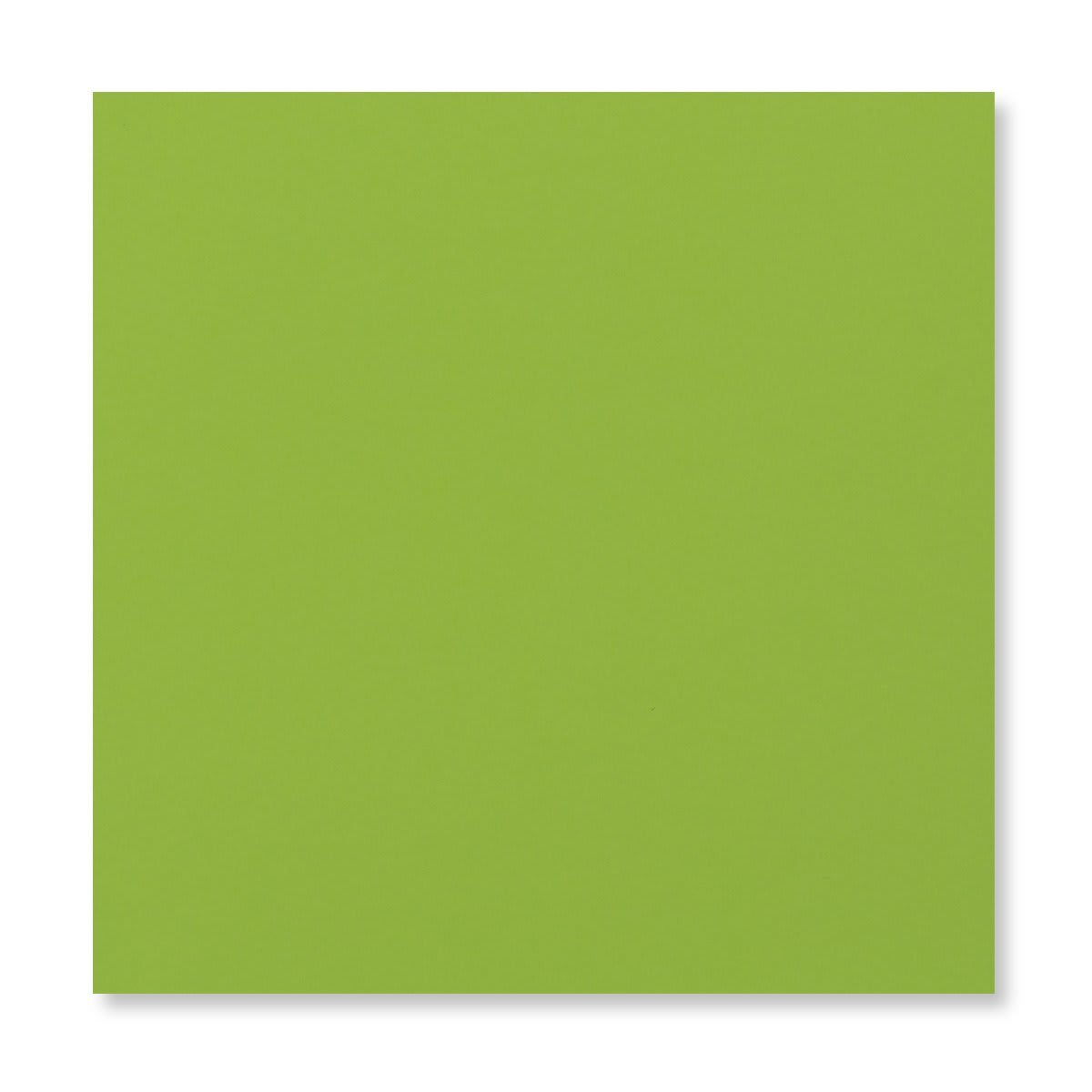 MID GREEN 155MM SQUARE PEEL & SEAL ENVELOPES