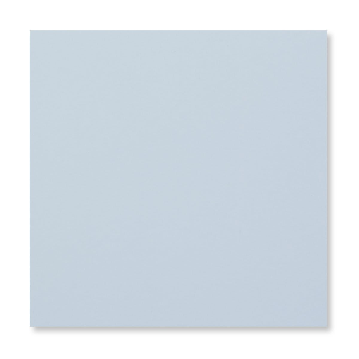 PALE BLUE 155MM SQUARE PEEL & SEAL ENVELOPES