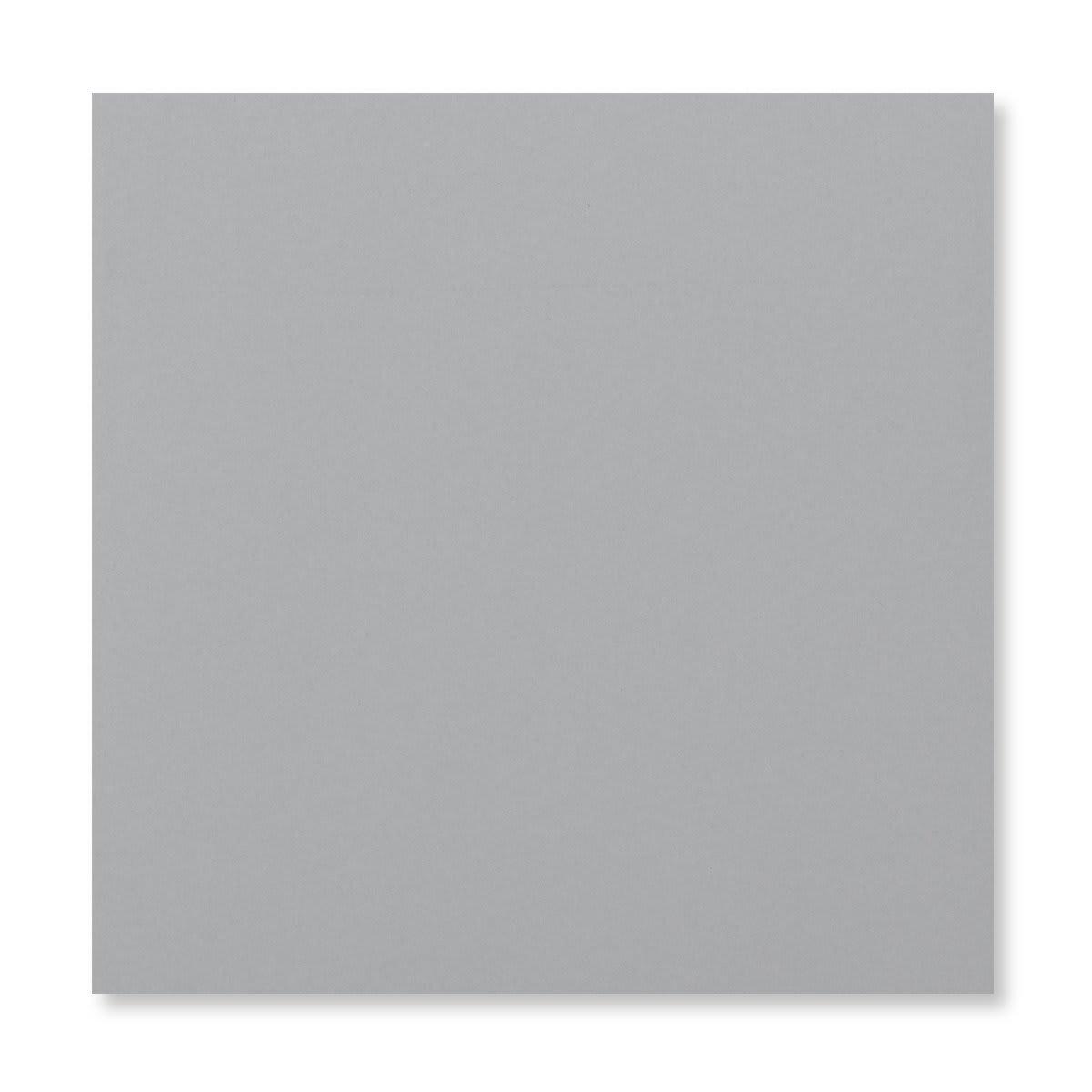 PALE GREY 155MM SQUARE PEEL & SEAL ENVELOPES