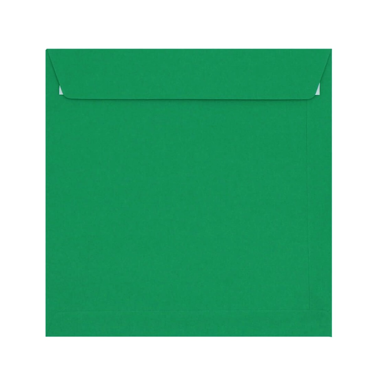 DARK GREEN 220mm SQUARE PEEL & SEAL ENVELOPES