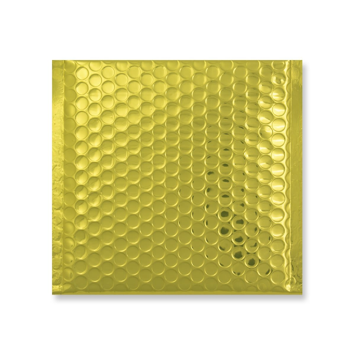 165 x 140mm GLOSS METALLIC GOLD PADDED ENVELOPES