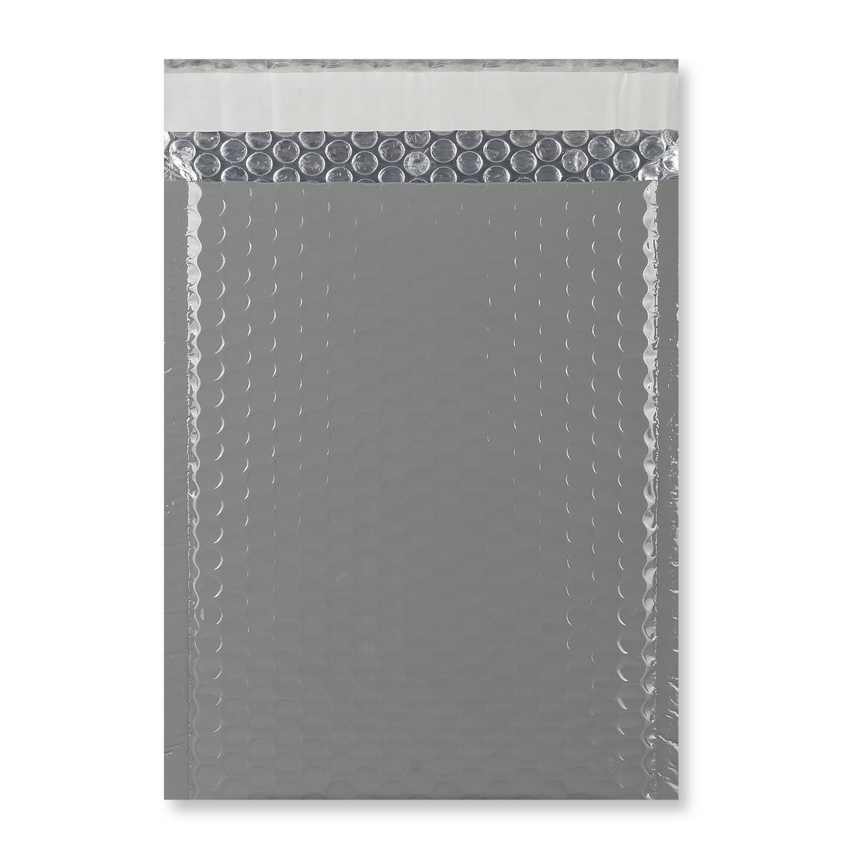 C5 + GLOSS METALLIC DARK GREY PADDED ENVELOPES (250 x 180MM)