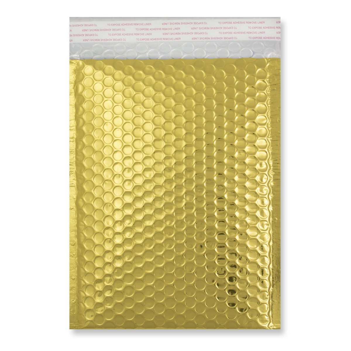 C5 + GLOSS METALLIC GOLD PADDED ENVELOPES (250 x 180MM)
