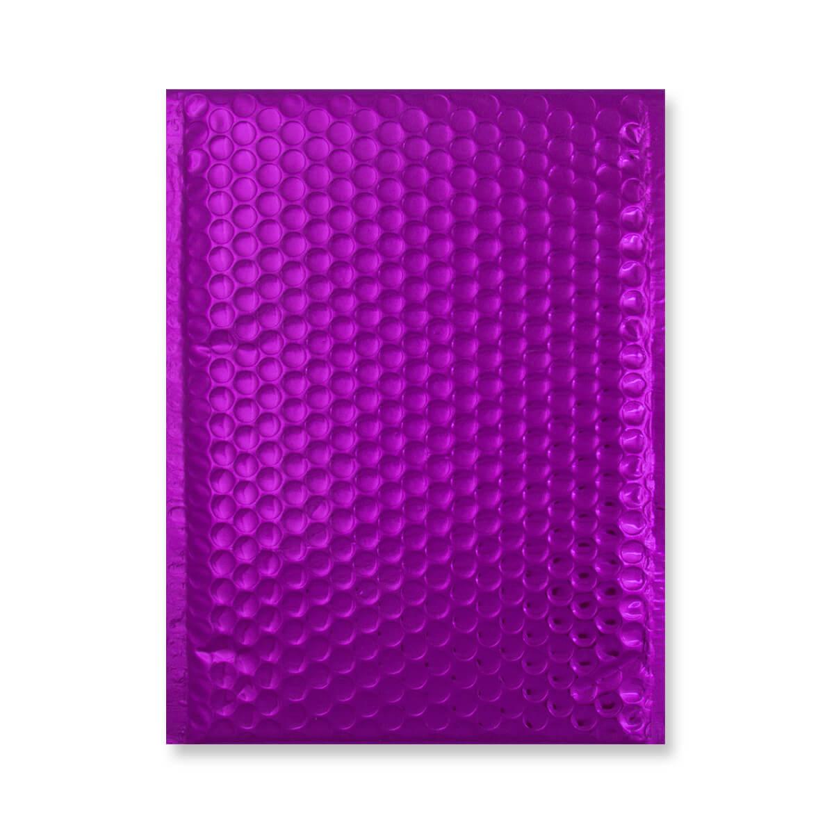 C5 + GLOSS METALLIC PURPLE PADDED ENVELOPES (250 x 180MM)