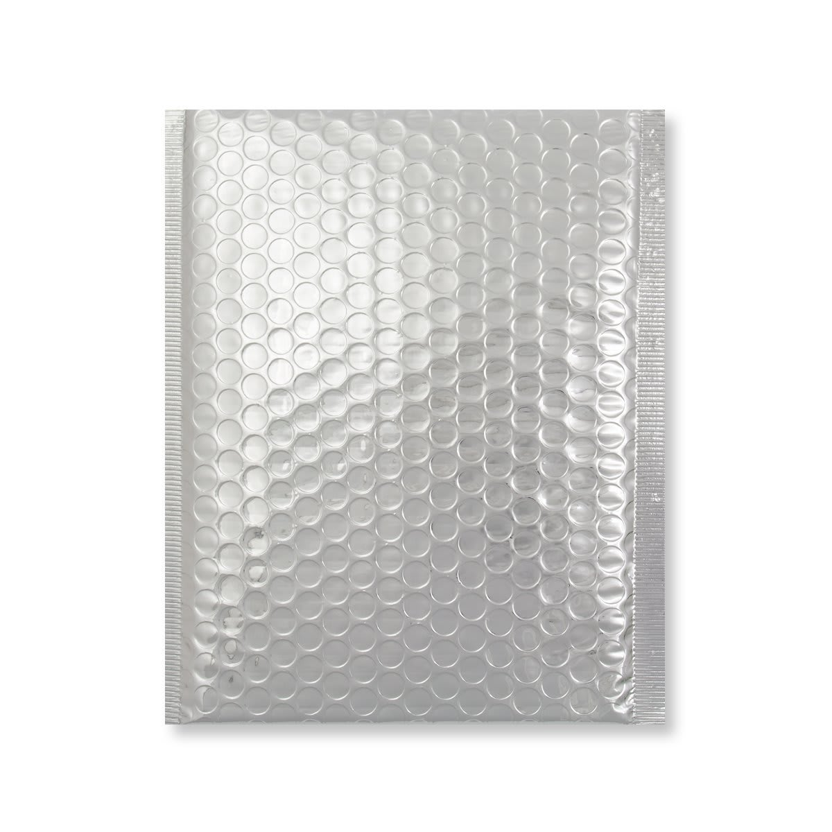 C5 + GLOSS METALLIC SILVER PADDED ENVELOPES (250 x 180MM)