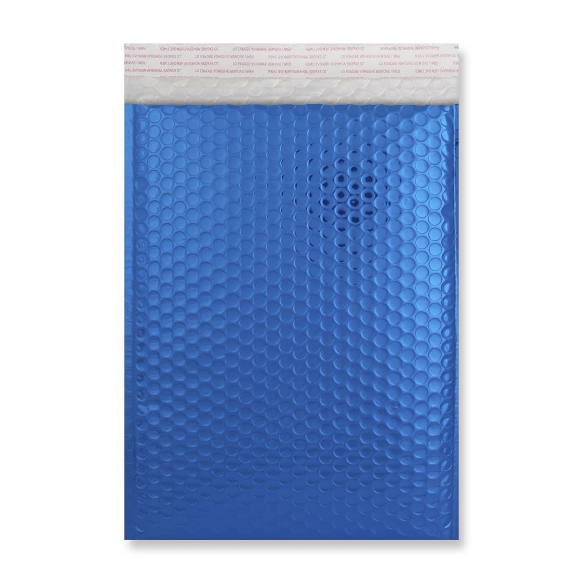 C4 GLOSS METALLIC BLUE PADDED ENVELOPES (324 x 230MM)