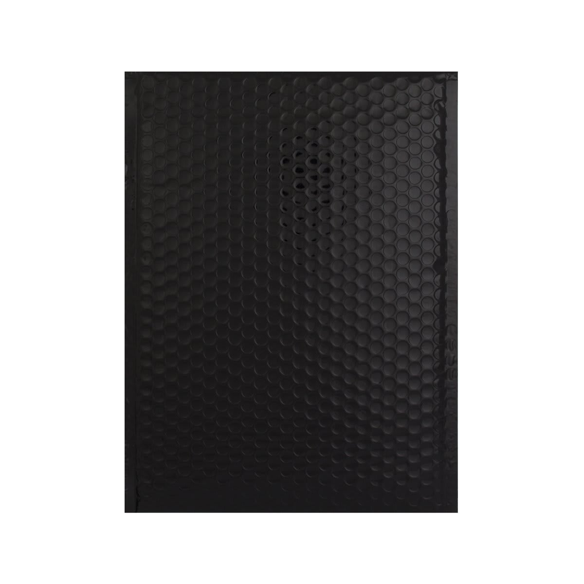 C4 GLOSS METALLIC BLACK PADDED ENVELOPES (324 x 230MM)