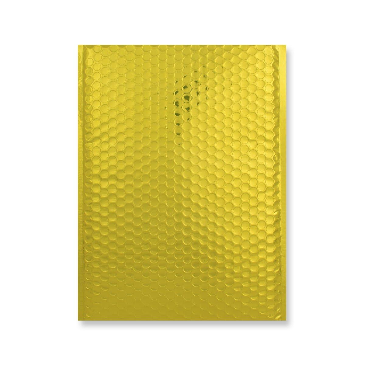 C4 GLOSS METALLIC GOLD PADDED ENVELOPES (324 x 230MM)