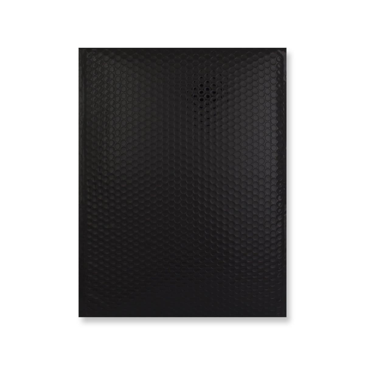 C3 GLOSS METALLIC BLACK PADDED ENVELOPES (450 x 320MM)