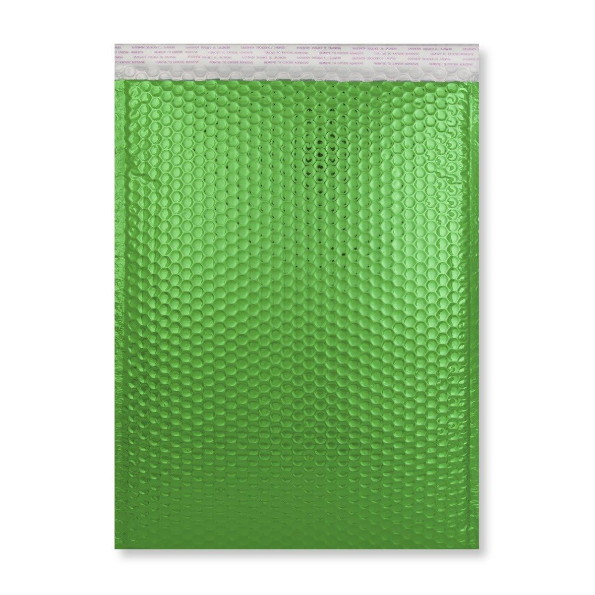 C3 GLOSS METALLIC GREEN PADDED ENVELOPES (450 x 320MM)
