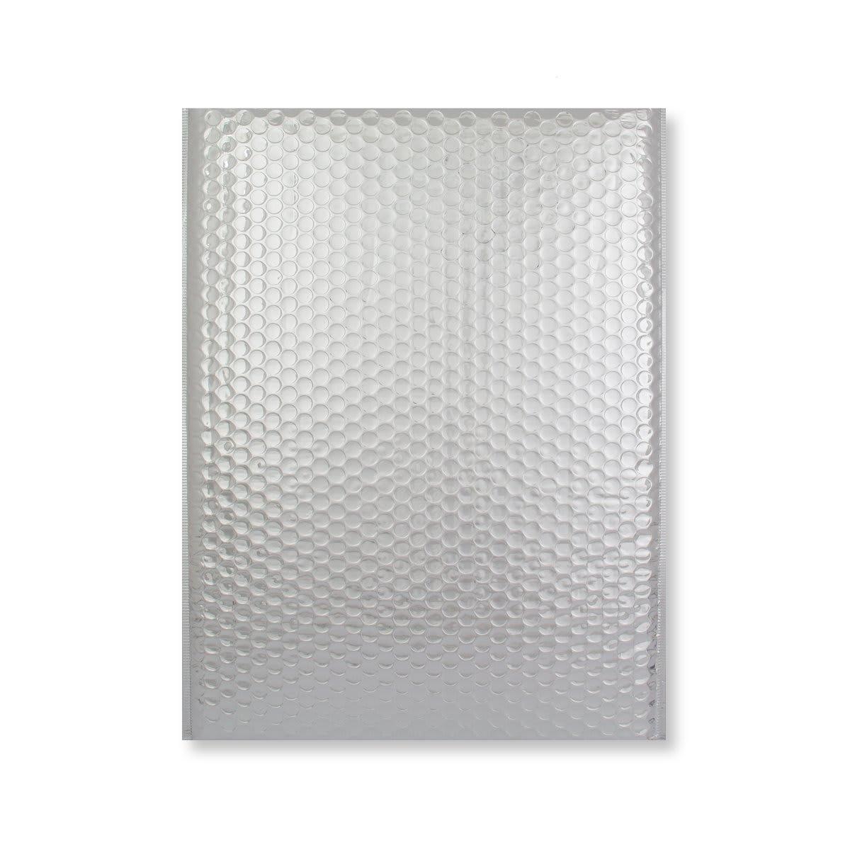 C3 GLOSS METALLIC SILVER PADDED ENVELOPES (450 x 320MM)