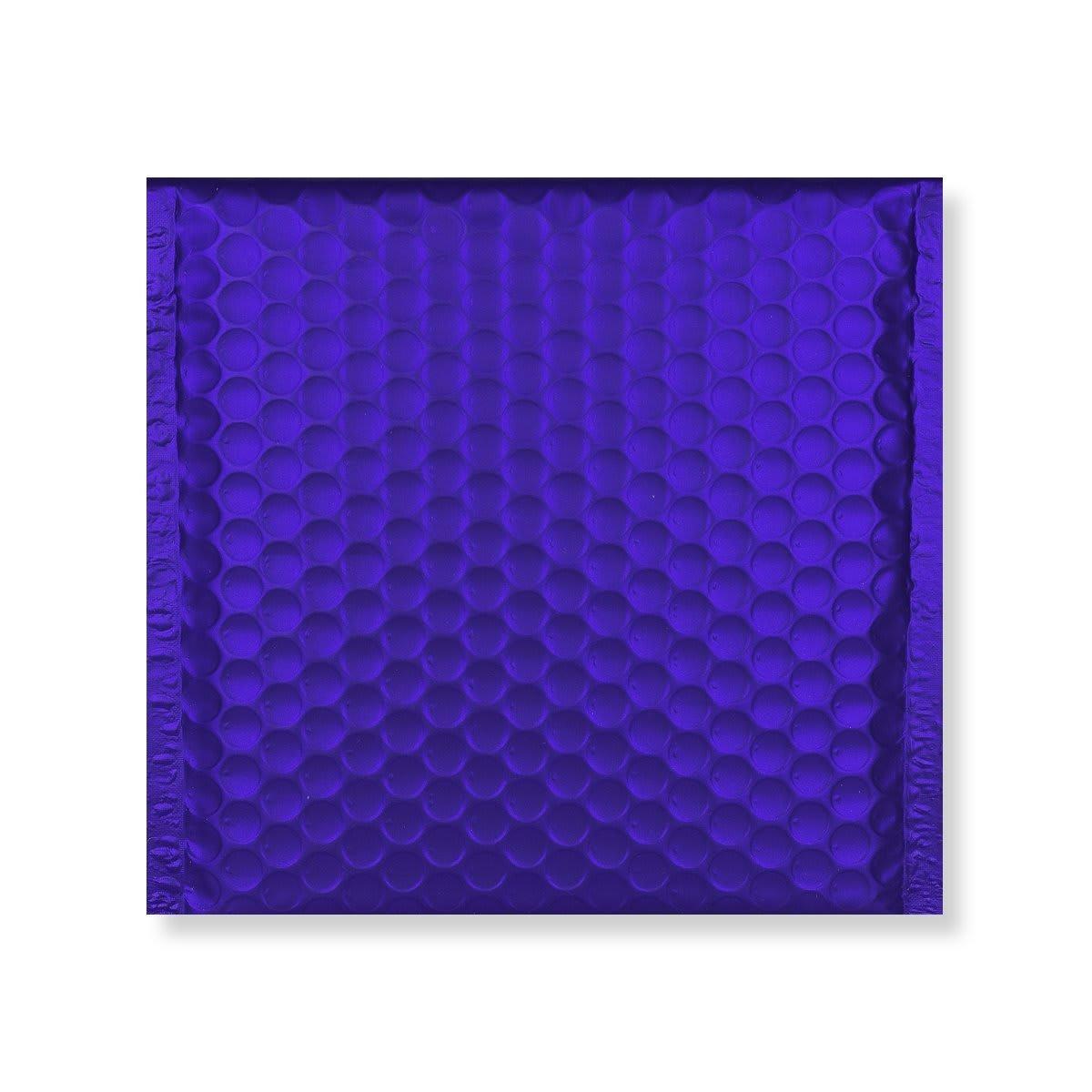 165MM SQUARE MATT METALLIC DARK BLUE PADDED ENVELOPES