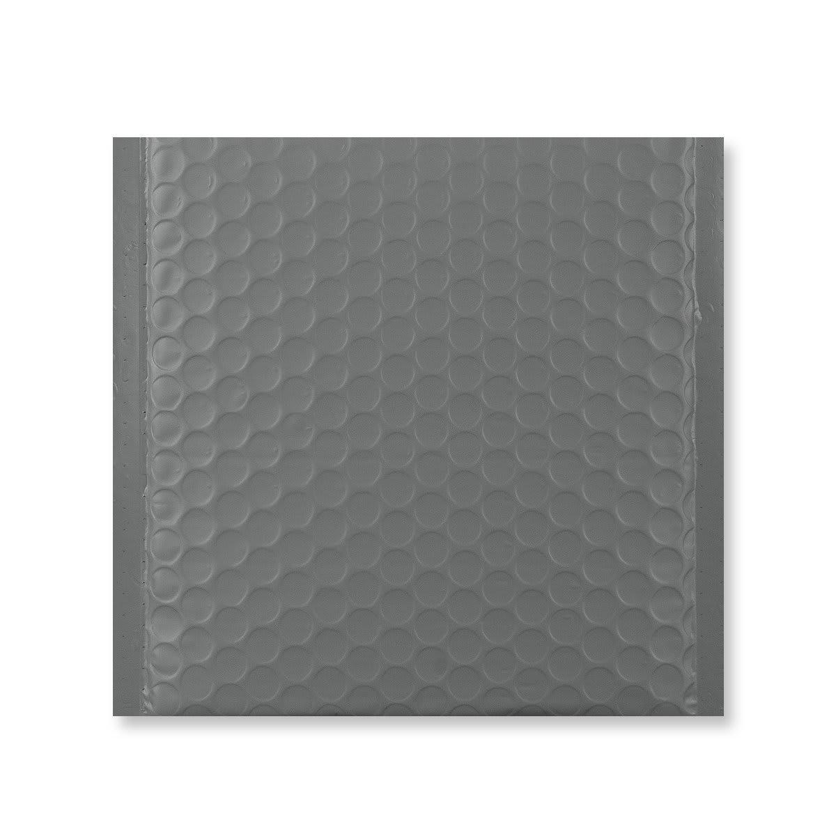 165x165mm DARK GREY MATT METALLIC BUBBLE BAGS