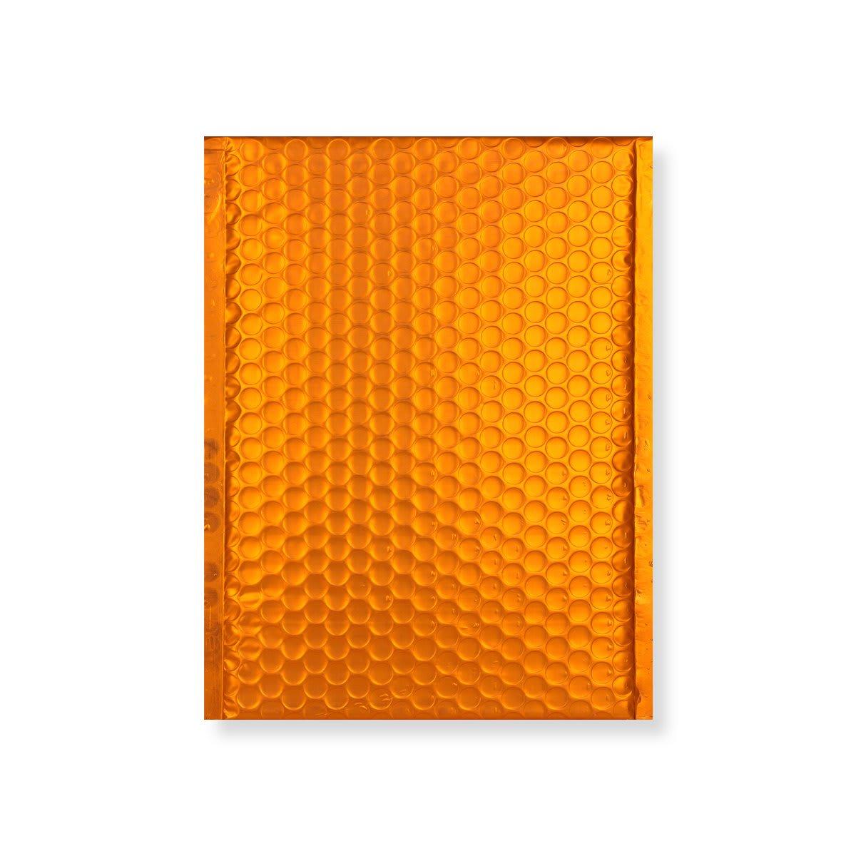 C5 + MATT METALLIC ORANGE PADDED ENVELOPES (250 x 180MM)