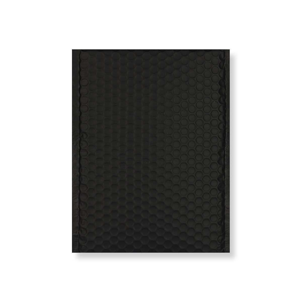 C4 MATT METALLIC BLACK PADDED ENVELOPES (324 x 230MM)