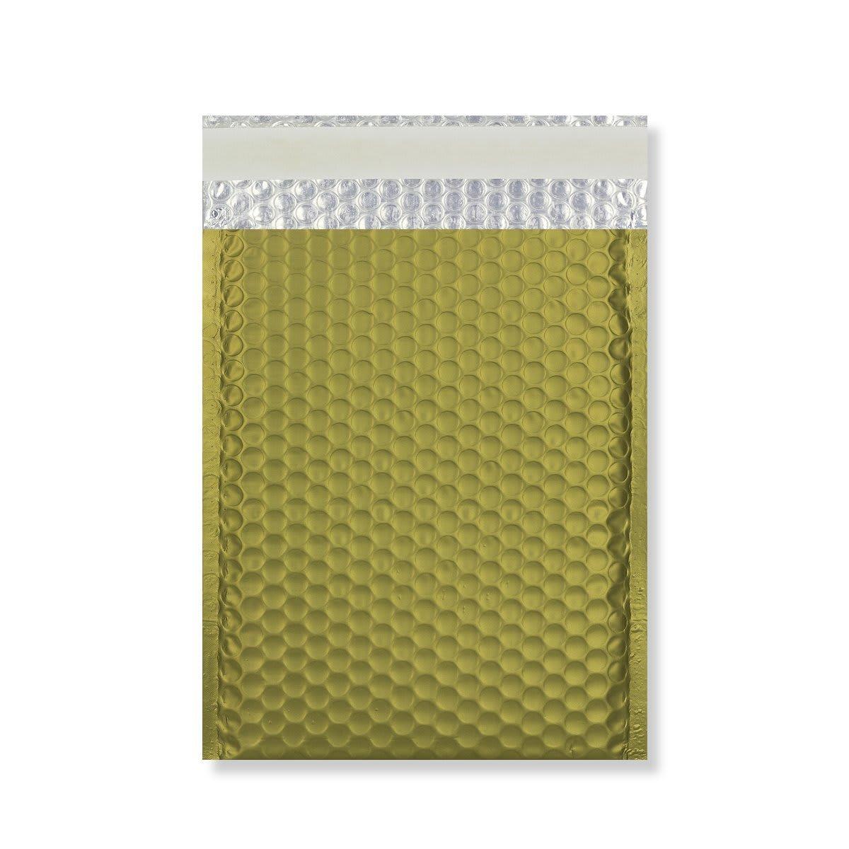 C4 MATT METALLIC GOLD PADDED ENVELOPES (324 x 230MM)