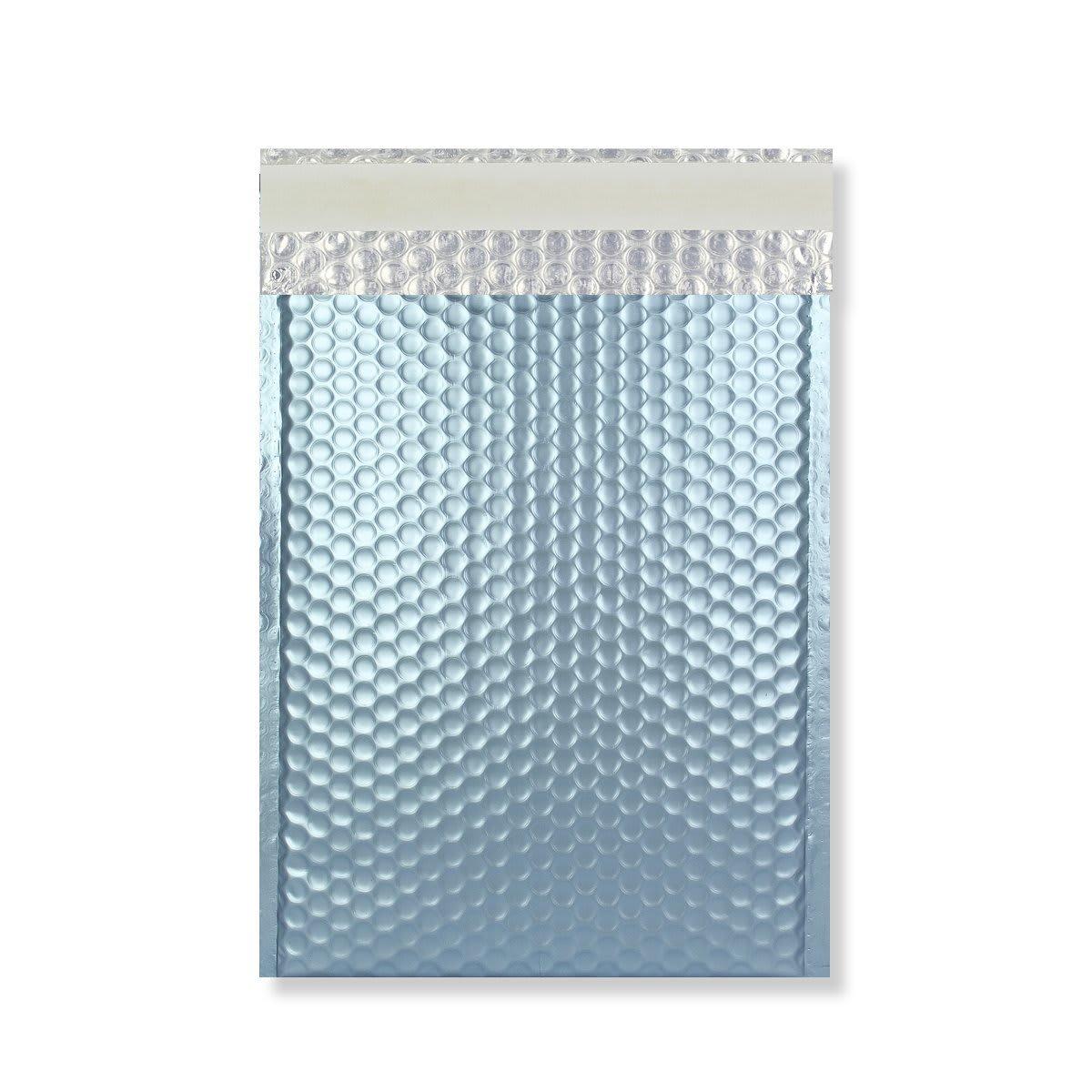 C4 MATT METALLIC ICE BLUE PADDED ENVELOPES (324 x 230MM)